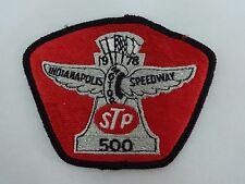 1978 Indianapolis 500 Event Collector Emblem Patch STP Al Unser Corvette