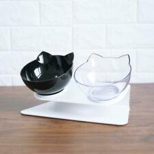 Cat Bowl Double Bowls ¦ Raised Stand ¦ Orthopedic ¦ Water ¦ Food ¦ Feeder