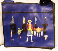 $30  Anime One Piece Ruffy Tony Chopper x BAIT Group Tote Bag(Blue)