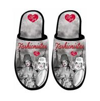 I Love Lucy Slip On Fashionistas Slippers One Size Fits Most Licensed New