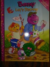 BARNEY LETS DISCOVER COLOR AND ACTIVITY BOOK 2001 BRAND NEW RARE!