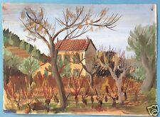 1/2: impressionismo acquerello dipinto le beauset Francia Adolf Hindelang 1942