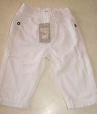 Pantalon blanc neuf taille 6 mois marque Grain de Blé