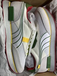 Mens Puma Future Rider Taqueria (Puma White | Nimbus Cloud | Garden Green) 9.5