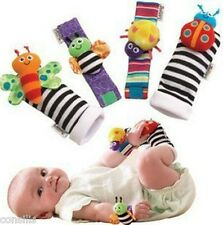 Lamaze wrist & foot rattles for infant baby, baby hand foot finder toys, 3 types