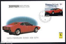 FERRARI BUSTA UFFICIALE 1973 FERRARI DINO 308 GT4 MACCHINA