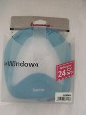 Hama CD DVD  Wallet Holder Case for 24 Window 83815