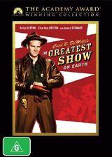 THE GREATEST SHOW ON EARTH DVD=GENUINE REGION 4 AUSTRALIAN RELEASE=NEW & SEALED
