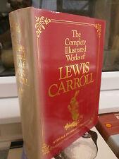 Complete Illustrated Works by Lewis Carroll (Hardback, reprinted 1983) HB DJ