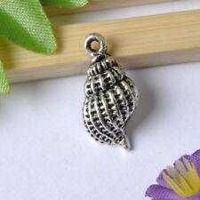 FREE SHIP 20pcs tibetan silver conch charm pendant 19X9MM JK0033