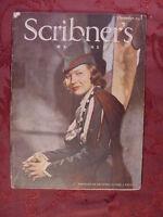 SCRIBNER'S December 1937 LUCILLE BROWNING G CHANDLER