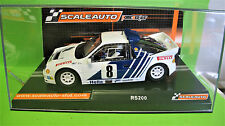 "ScaleAuto 1:32 Ford RS 200 #8 ""Swedish rally 1986"" SC - 6182"