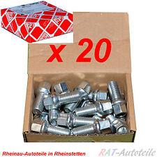 20 st Radschraube AUDI VW SEAT SKODA M14x1,5mm Gewi.länge 27mm Länge 48 mm SW17
