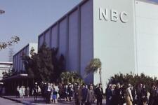 5 Original 35mm Slides Los Angeles CBS NBC ABC Television Studios LA 60's VNTG