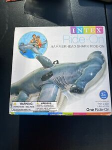 NEW - Intex Hammerhead Shark Ride-On Pool inflatable