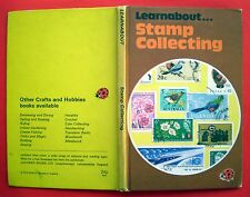 Stamp Collecting Ladybird vintage book hobbies history watermarks UK foreign