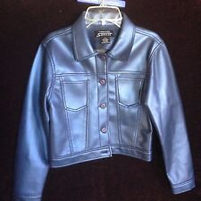 Squeeze Girls Large Blue Jacket