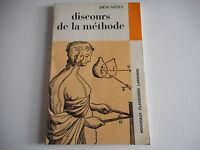 DISCOURS DE LA METHODE / DESCARTES - CLASSIQUES LAROUSSE