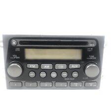 HONDA ELEMENT RADIO CD DISC PLAYER AUX STEREO UNIT RECEIVER 2003 04 05 06