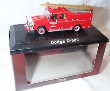 Atlas Fire truck Collection Dodge D-500 approx 1-72 Scale New in case boxed