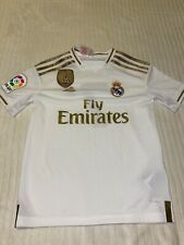 Adidas 19-20 Real Madrid Home Shirt 'Hazard 7' 9-10 Years