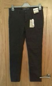 Womens slim jeans chinos size 10 L30 Stretch new with tags