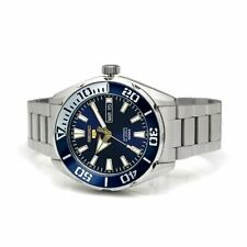 SEIKO 5 SPORTS, SRPC51K1, AUTOMATIC, DATE & DAY, BLUE DIAL BEZEL, STEEL