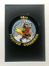 Original oldie USAF 14th Fighter Squadron embroidered patch