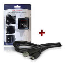 SAMSUNG HMX-F80 / HMX-F800 HD Camcorder Video Camera USB CABLE + BATTERY CHARGER
