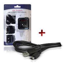 SAMSUNG HMX-F80/HMX-F800 Videocámara HD Video Cámara USB Cable + Cargador de batería
