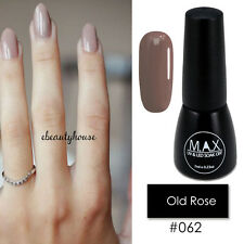 MAX 7ml Nail Art Color UV LED Lamp Soak Off Gel Polish #062-Old Rose
