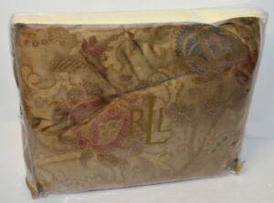 "Ralph Lauren Venetian Court Tapestry King Bedskirt 18"" Drop $220 New"