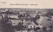uralte AK, Wilna (Vilnius), Blick auf Wilna vom Schlossberg, Feldpost 1918