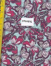 Quilt Fabric BTY: BLEND FABRICS, NATURAL WONDER BLUE 0900816, BUTTERFLIES