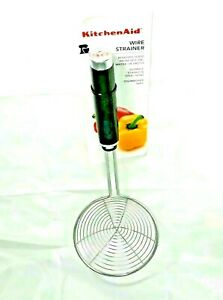 bulb baster and wire strainer Kitchen Aid 2 piece peeler set