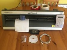 More details for superb roland camm gx-24 vinyl cutter with loads of extras. see info / photos.