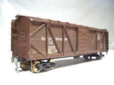 HO early Great Northern O/B wood box car  #31055 built craftsman kit