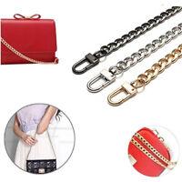 Messenger Crossbody Bag Metal Replacement Purse Chain Shoulder Strap Handbag US