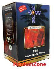 108 Pcs NOUR Charcoal Natural Coconut Hookah Shisha Coal Coco Nara Titanium 1 KG