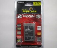 OLYMPUS BLS-5 Replacement Battery Li-Ion 7.4V 1150mAh by Digital Sunflash