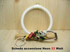 Scheda elettronica di accensione neon circolare circolina 22W 4 pin attacco T4