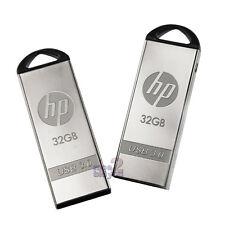 HP x720w 32GB 32G USB 3.0 Flash Drive PC Memory Thumb Disk Storage Metal Capless