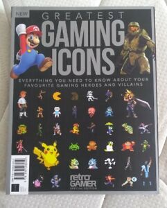 RETRO GAMER SPECIAL EDITION: GREATEST GAMING ICONS MAGAZINE BOOKAZINE SECOND 2ND