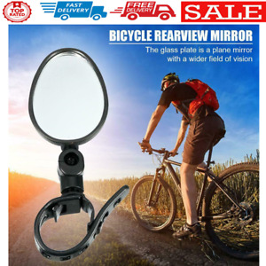 Bicycle Rear View Mirror 360 Degree MTB Handlebar Rearview Plane Mirror