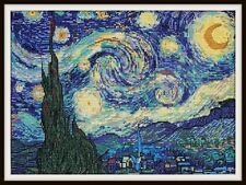 Vincent Van Gogh's Starry Night - Ladybug Designs - New Chart