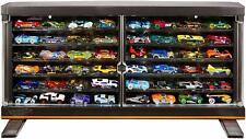 50th Anniversary Hot Wheels Display Case Bonus 83 Chevy Silverado Holds 50 Cars