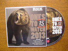 ONES TO WATCH 2013 - VARIOUS ARTISTS (CLASSIC ROCK CD) 2013