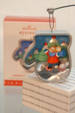 COOKIE CUTTER CHRISTMAS HALLMARK ORNAMENT 2016~#5 IN SERIES~FREE SHIP IN US