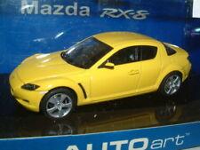 1/43 AUTOART MAZDA RX8 IN LIGHTNING YELLOW