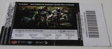 old ticket Speedway Grand Prix 2016 Poland Torun * Iversen Hancock Zmarzlik